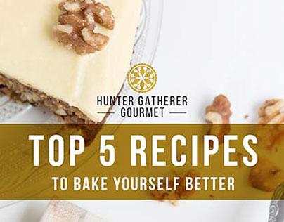 Recipe eBook for Hunter Gatherer Gourmet