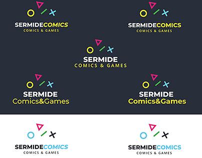 Sermide Comics & Games first draft logo