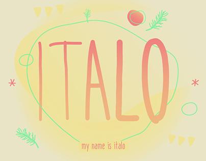 ITALO — typeface