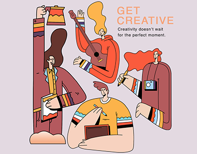 Get Creative. Illustration