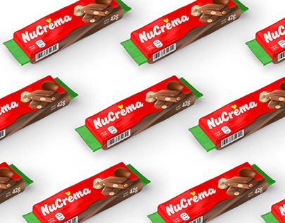 NuCrema chocolate spread packaging