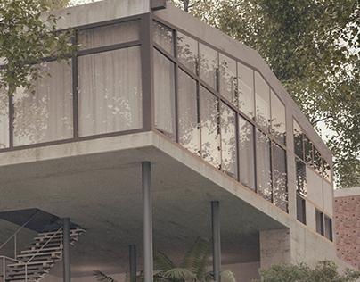 Casa do vidro