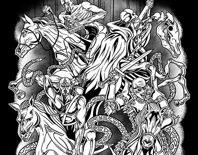 4 Horsemen of Apocalypse