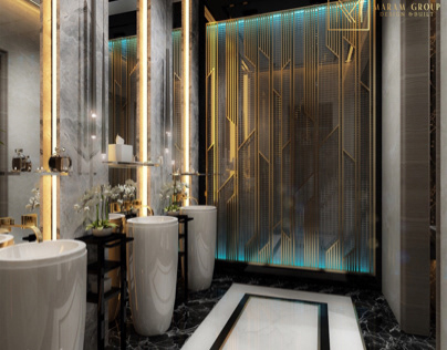 Master bathroom design in ( kuwait) on Behance