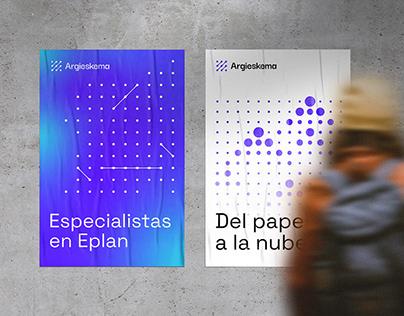 Argieskema – Visual identity