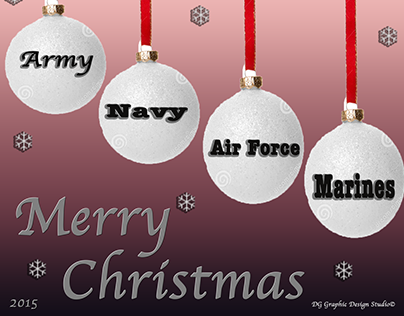 Merry Christmas to our Military 2015!