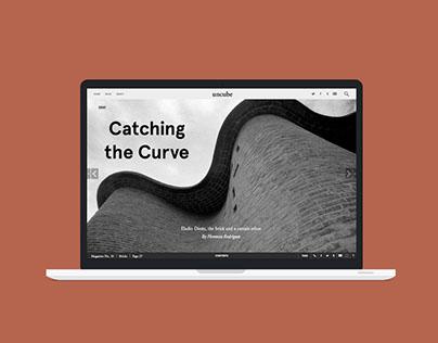 uncube magazine layouts
