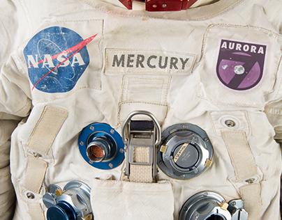 NASA Mercury 7 Patch Redesigns