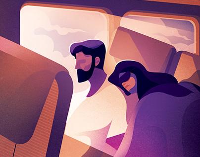 Transport & Travel Illustrations 2018