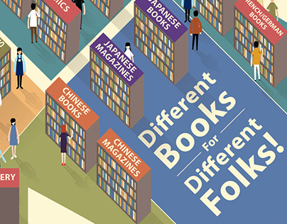 Different Books for Different Folks!