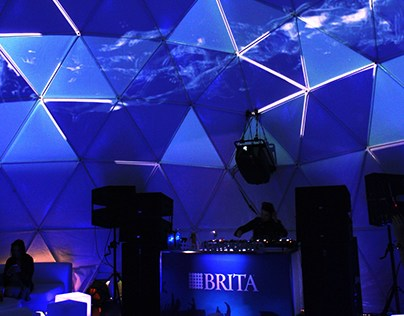 BRITA - Dome Projection Mapping