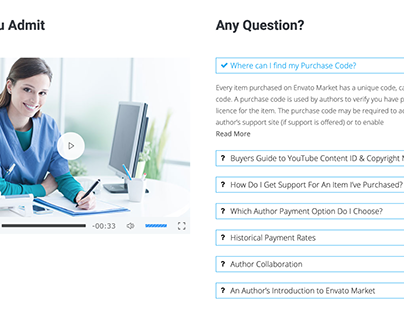FAQ design with wordpress elementor