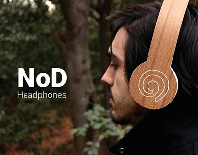 NoD Selective Sound Canceling Headphones