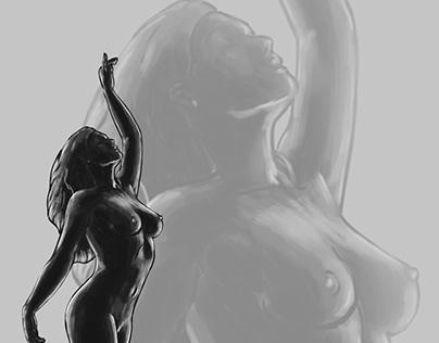 My works in digital painting