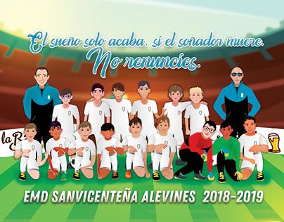 Sanvicenteño Alevines 2019