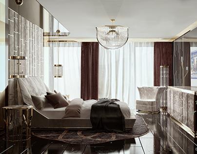 Bedroom Design-Göktürk Villas/İSTANBUL