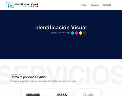 Propuesta Landing Page ID Visual