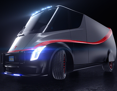 E-Team all electric van concept