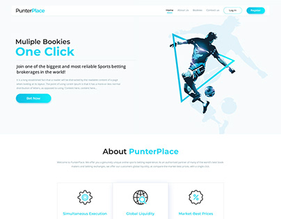 PunterPlace - Web Design