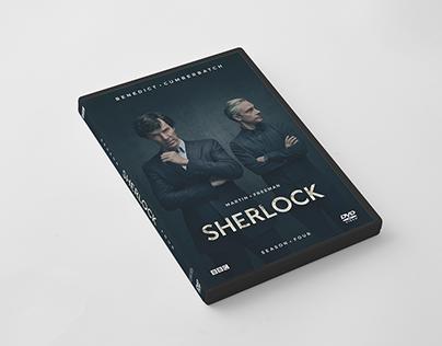 Sherlock Season 4 // Unofficial DVD Cover Artwork