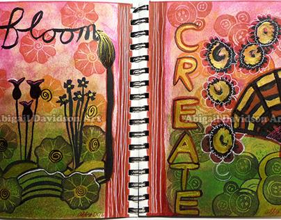 Art Journaling: Bloom & Create