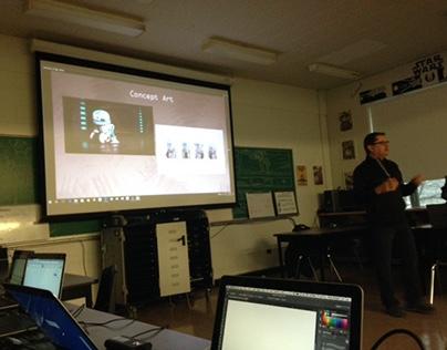 Concept Art Workshop with Tom Lepp