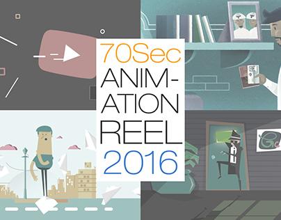 2D Animation Showreel 2016
