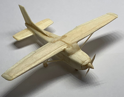 Cessna 172, woodcraft
