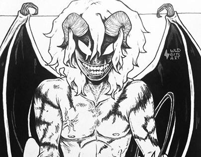 Demon AU Shigaraki