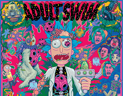 ADULT SWIM. SDCC 2019