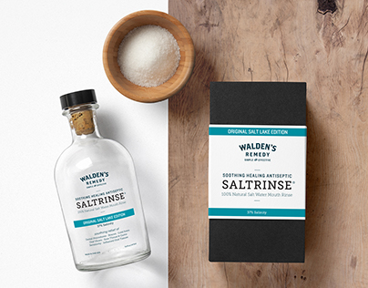 Walden's Remedy Branding & Packaging
