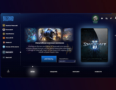 Blizzard new concept application