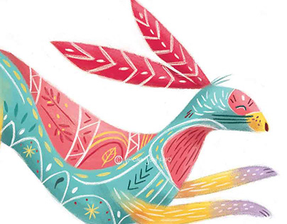 My personal hare alebrije for March #Alebrije challenge