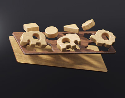 Wood Toys 0+ | Full CGI