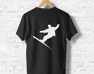 Snowboarding T-shirt Design
