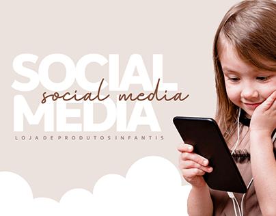 Social Media - Produtos infantis