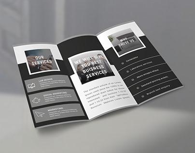 A simple Tri-Fold brochure