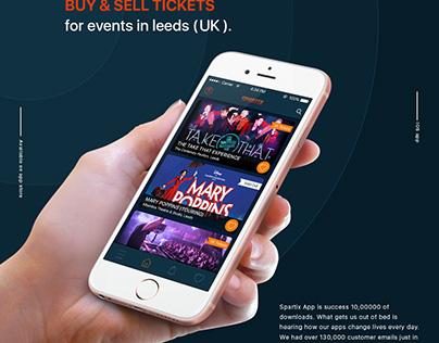 Spartix event app