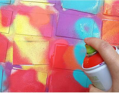 DIY - Colorful Business Card