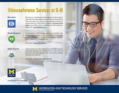 Videoconferencing at University of Michigan