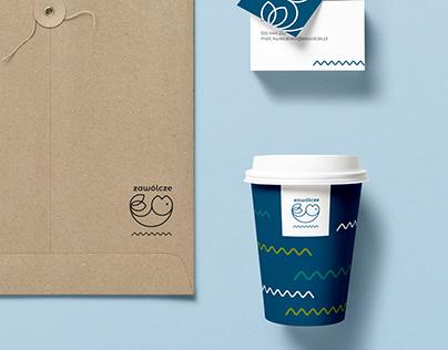 brand identity design - stawy rybne zawólcze