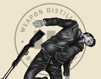 Weapon Distillers - Brand Identity and Packaging