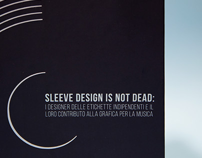 SLEEVE DESIGN IS NOT DEAD | bachelor thesis