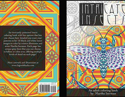 Intricate Insects Coloring Book