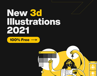 New 3d Illustrations for Free