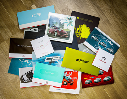 Dossiers de presse Citroën (2003-2014)