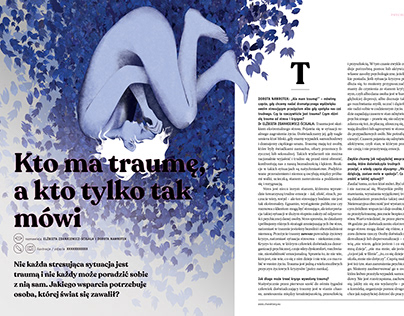 Illustrations for Charaktery Magazine