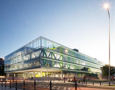 University of Warsaw, Scientific building