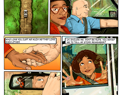 Away Home Comic Book- Madeleine Veneziano, RJ Sterling