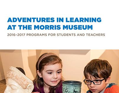 Morris Museum Education Guide - 2016/2017